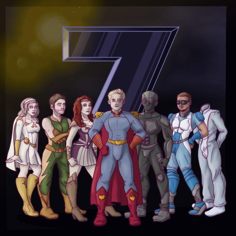 «Семёрка» под микроскопом — личные дела 7 супергероев первого сезона сериала «Пацаны»
