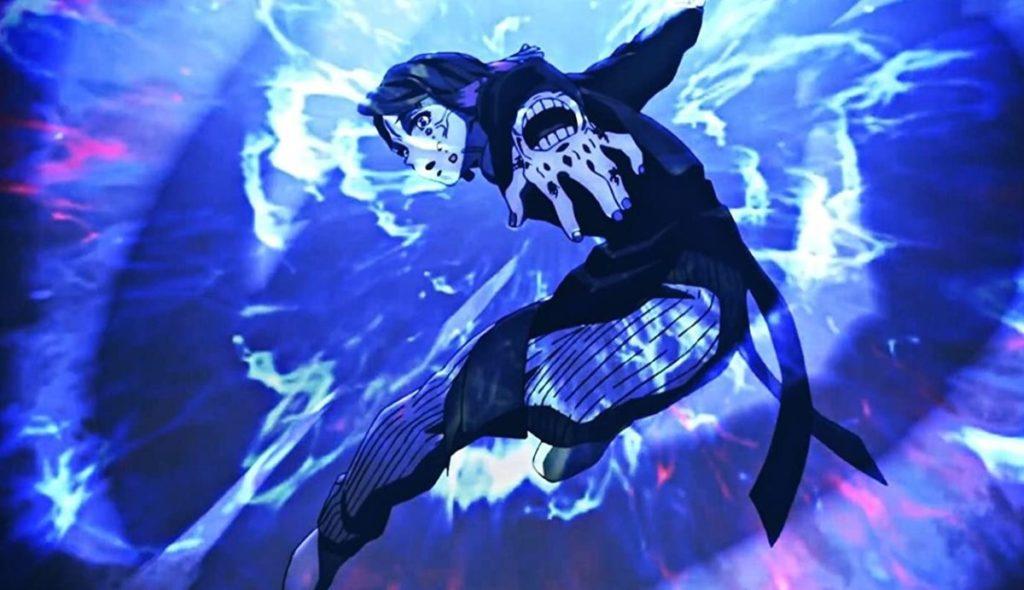 Истребитель демонов Поезд бесконечный аниме